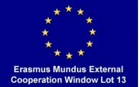Erasmus Mundus External Cooperation Window Lot 13