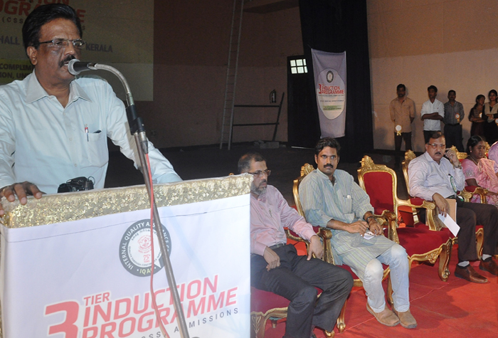 Inauguration of 3 Tier Induction programme